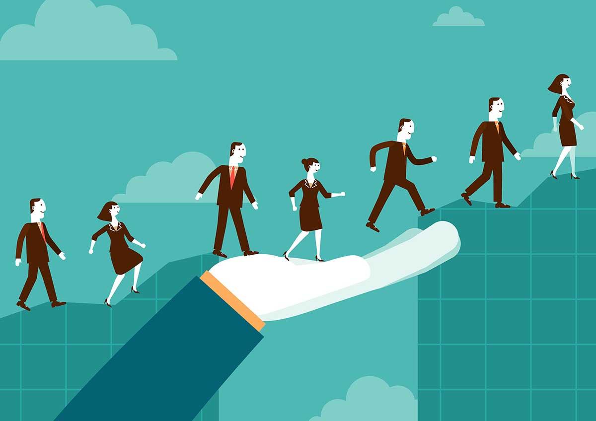 Como uma pessoa sem técnicas de liderança pode liderar uma equipe?